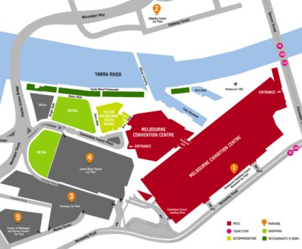 Waste-Expo-Australia-2019-getting-there-venue-parking-map