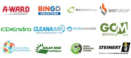 Waste Expo Australia 2018 Exhibitors Logos