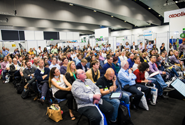 Waste Expo Australia crowds at conference sessions