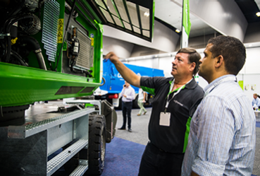 Live product demos at Waste Expo Australia