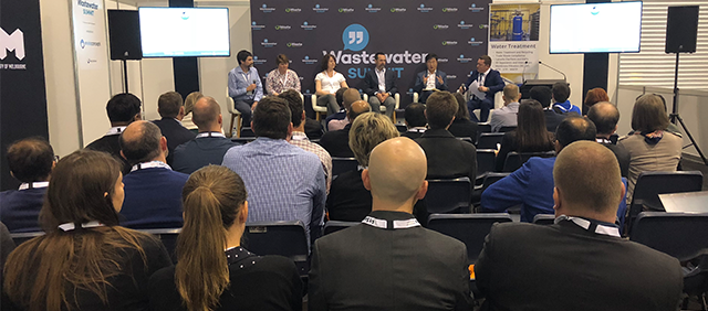 Wastewater summit conference at Waste Expo Australia