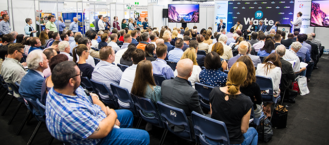 audience at waste expo australia conferences